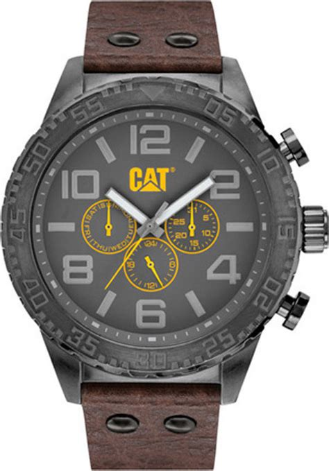 cat camden xl multi brown leather nh 159 35 535