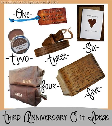 third wedding anniversary leather ideas 92 best nifty gifty images on gifts