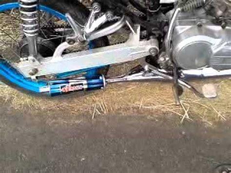 Knalpot Yamaha Fino Akrapovic Pelangi 1 noguchi leher cacing slancer pelangi