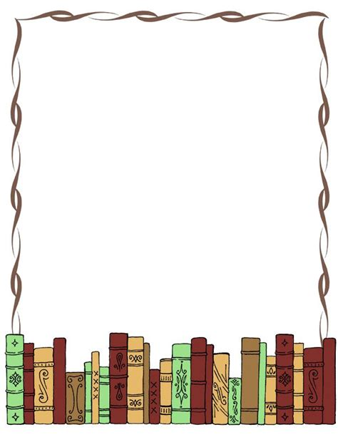 Book Clipart Border free books border free clip libraries