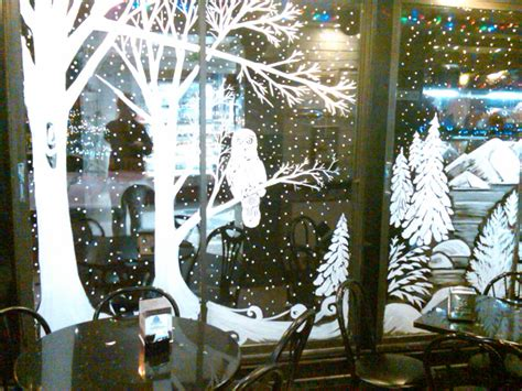 window painting for christmas windows painting from