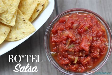 printable restaurant recipes chunky restaurant style rotel salsa recipe