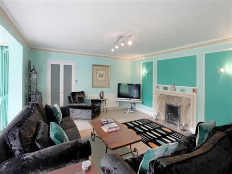 Turquoise And Black Living Room - kitchen black and turquoise living room pictures