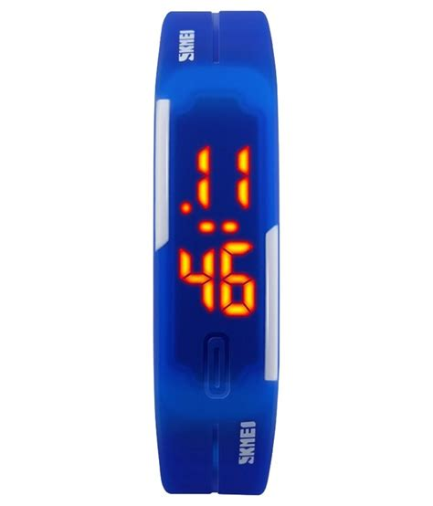 skmei blue electronic skmei blue rectangular digital available at