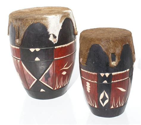 Sarung Tangan Drum banyak 2 buatan tangan tradisional afrika kayu drum besar