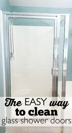 1000 Images About Clean Up Clean Up On Pinterest How To Get Glass Shower Doors Clean