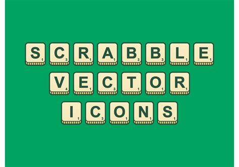 ai scrabble scrabble outlined vector icons free vector