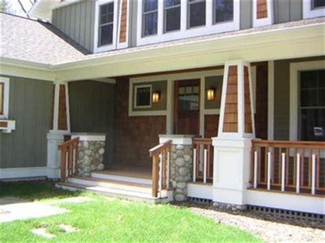 craftsman style porches craftsman style front porch exterior pinterest