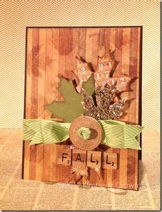 1000 images about handmade autumn cards on pinterest
