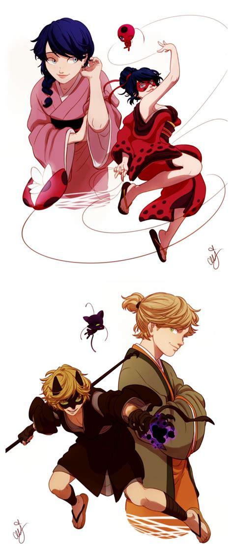 era edo edo era ladybug and chat noir miraculous ladybug
