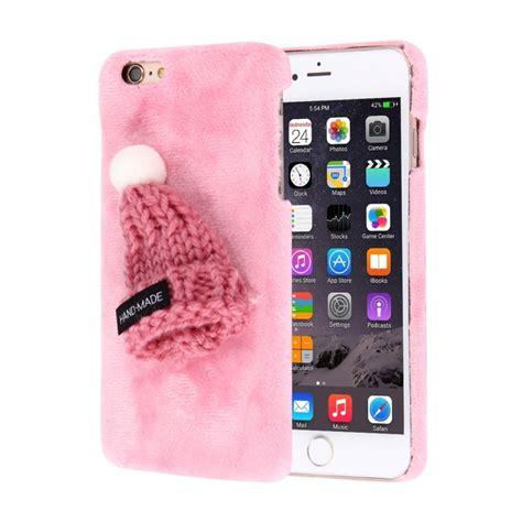 plyšov 253 ochrann 253 kryt obal s čiapkou pre apple iphone 6s 6 ružov 253 appleking sk