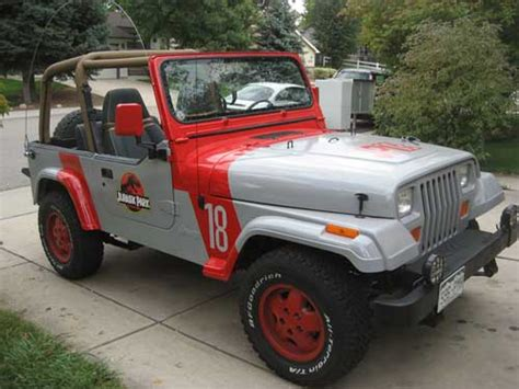 Jurassic Park 1 Jeep Cars That Destroyed With Bad Taste Page