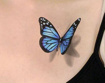 blue butterfly tattoo 50 amazing 3d butterfly tattoos