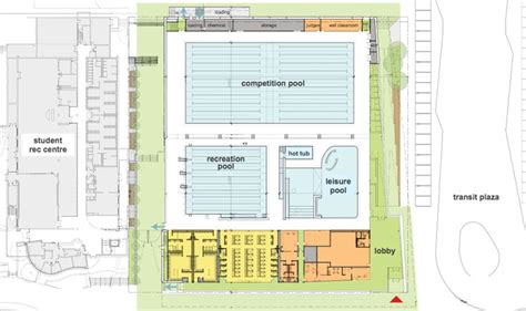 Coach House Floor Plans by New Ubc Aquatic Centre Ubc Sport Facilities