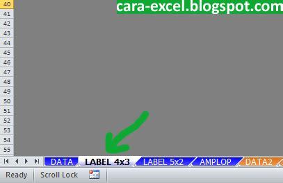 membuat label undangan di excel 2003 membuat label undangan dengan excel cara excel