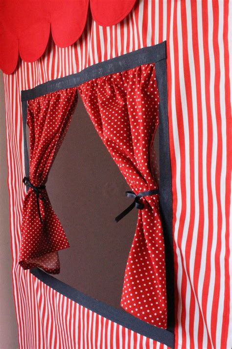 puppet theater curtain doorway puppet theatre curtains babies and children
