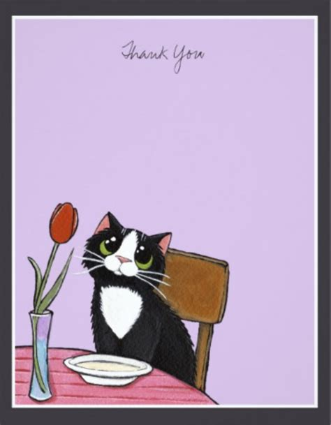 cat card template 14 restaurant thank you card templates designs psd