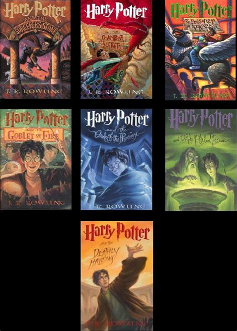 picture of harry potter books harry potter e bookz
