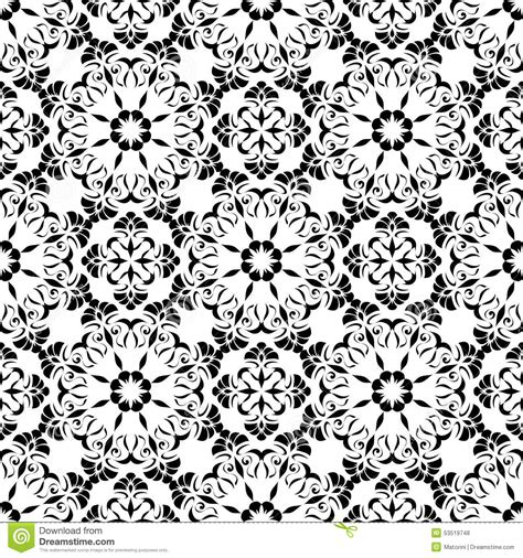 pattern in art elements seamless pattern of the elements of art nouveau stock