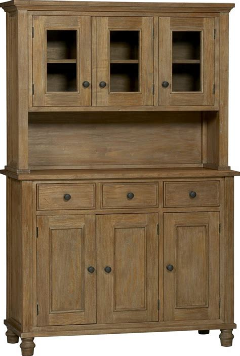 With Hutch Top kipling grey wash buffet with hutch top in dining kitchen storage crate and barrel part cm