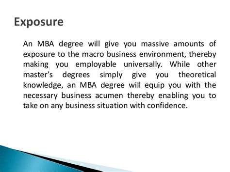 Basic Knowledge Of Mba by Top 10 Reasons To Pursue An Mba