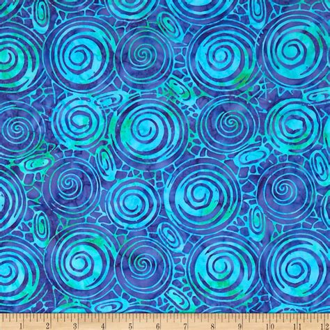 fabric design of indonesia indonesian batiks circles lagoon discount designer