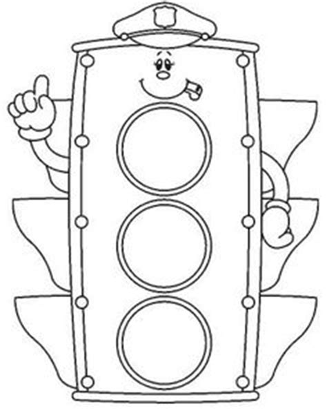 traffic light coloring pages and online coloring on pinterest