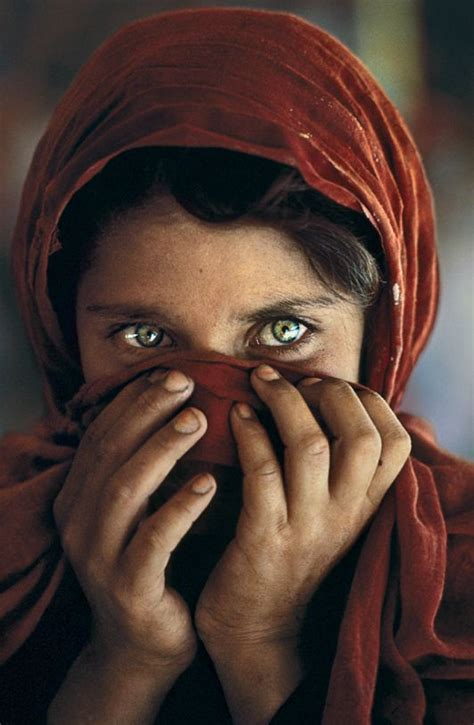 steve mccurry the iconic iconic afghan image was almost cut photographer reveals beautiful girls and famous faces