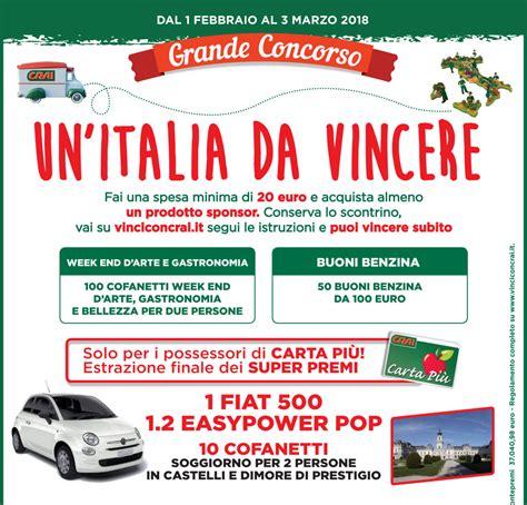 italia concorso crai via al concorso un italia da vincere