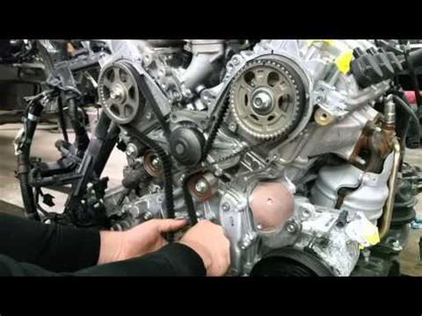 honda accord v6 timing belt replacement how to replace a timing belt honda acura v6 edition doovi