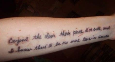 tattoo quotes heaven tattoo ideas quotes on death heaven mourning idea