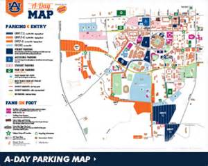 a m football parking map auburntigers official athletics site of the auburn