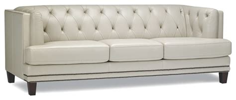 tufted nailhead sofa tufted leather sofa with nailhead trim contemporary