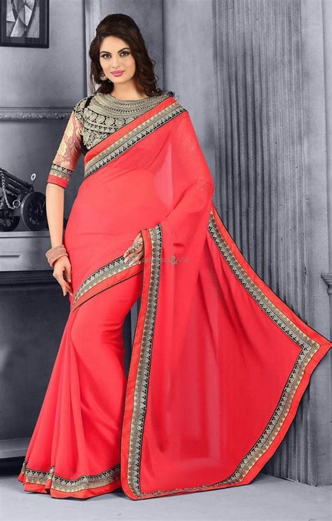 latest half sarees designs 2016 blouse designs for designer sarees of latest 2016 fashion