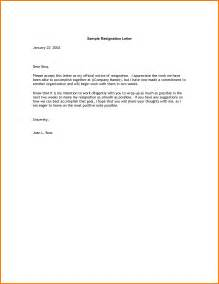 Resign Letter 2 Weeks Notice by Doc 695463 2 Week Notice Letter 40 Two Weeks Notice Letters Resignation Letter Templates