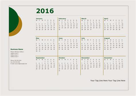 calendar design sles 2016 happy new year 2016 calendar 2016 free download vector
