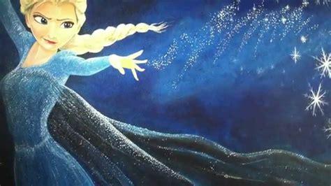 painting frozen quot frozen quot elsa mural by dave cant 249