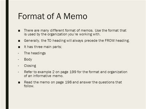 Memo Writing Questions for professional communication ppt