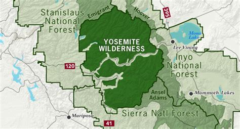 map of yosemite area map of yosemite area pictures to pin on pinsdaddy
