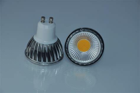 led strahler gu10 dimbare cob led spot gu10 warm wit ecobright