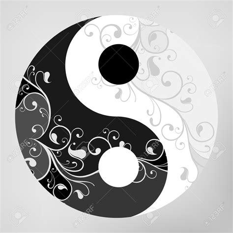 yin yang pattern yin yang yin yang pattern symbol on grey background