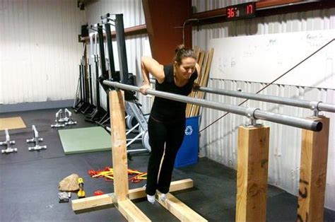 wood parallel bars no diy plans or purchase options but