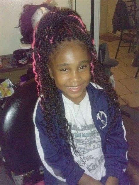 kids hairstyles for box braids extensions 20 best images about kid s individual braids twists on