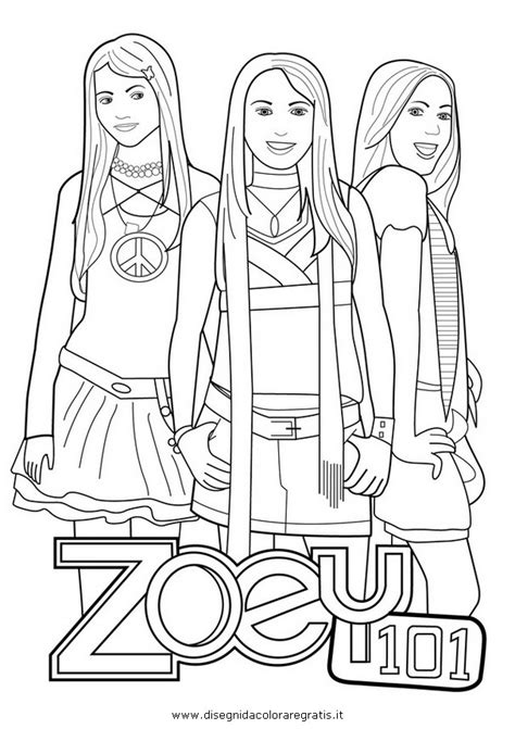 Zoey 101 Coloring Pages zoey 101 coloring pages az coloring pages
