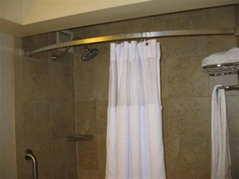 angled shower curtain rod corner shower curtain rod accessories the furnitures