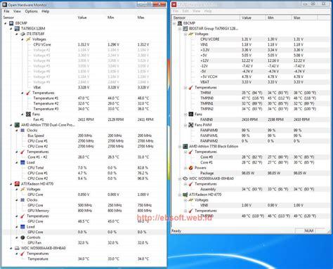 Kipas Vga Pc cek temperatur komponen pc dengan open hardware monitor