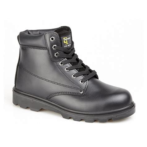 Kickers Boots Safety Black 02 grafters m569a unisex s1 src padded safety boots black