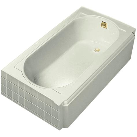 koehler bathtubs kohler memoirs 5 ft right hand drain cast iron soaking