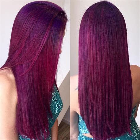 cool hair dye colors 7 maroon hair color ideas
