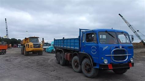 fiat truck a classic fiat 690n4 dump truck volvo a35f